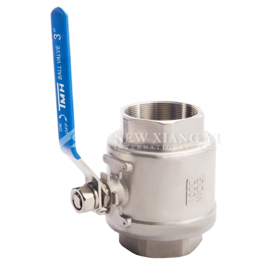 stainless steel full flow ball valve