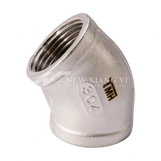 304 316 stainless steel elbow 45 degree